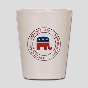 Republican Shot Glass