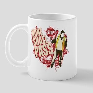 """None Shall Pass"" Guard Mug"