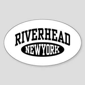 Riverhead NY Sticker (Oval)