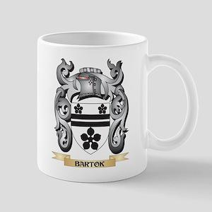 Bartok Family Crest - Bartok Coat of Arms Mugs