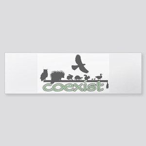 Wildlife Coexist Sticker (Bumper)