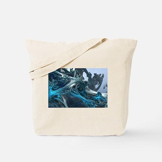 Cute Ice art Tote Bag