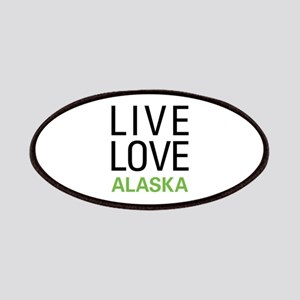 Live Love Alaska Patches