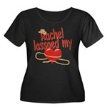 Rachel Lassoed My Heart Women's Plus Size Scoop Ne