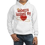 Rebecca Lassoed My Heart Hooded Sweatshirt