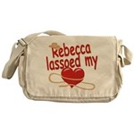 Rebecca Lassoed My Heart Messenger Bag