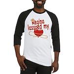 Regina Lassoed My Heart Baseball Jersey