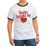 Regina Lassoed My Heart Ringer T