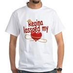 Regina Lassoed My Heart White T-Shirt