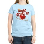 Regina Lassoed My Heart Women's Light T-Shirt