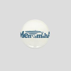 Menemsha MA - Whale Design. Mini Button