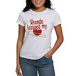 Rhonda Lassoed My Heart Women's T-Shirt