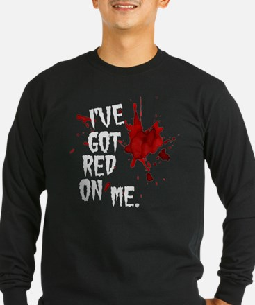 Red on Me T