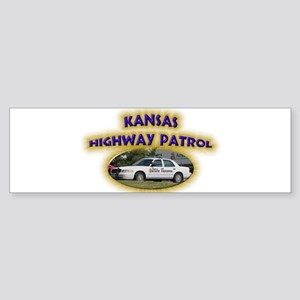 Kansas Highway Patrol Sticker (Bumper)