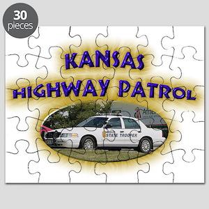 Kansas Highway Patrol Puzzle