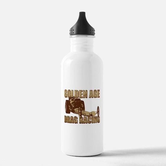 Vintage Slingshot Dragster th Water Bottle