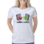 Autism Rocks!! Women's Classic T-Shirt