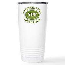 NPF Stainless Steel Travel Mug