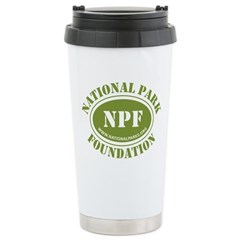 NPF Stainless Steel Travel Mug