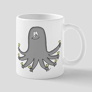 Octopus Handbells Mug