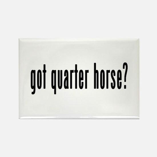 GOT QUARTER HORSE Rectangle Magnet