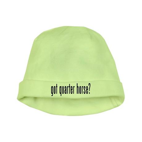 GOT QUARTER HORSE baby hat