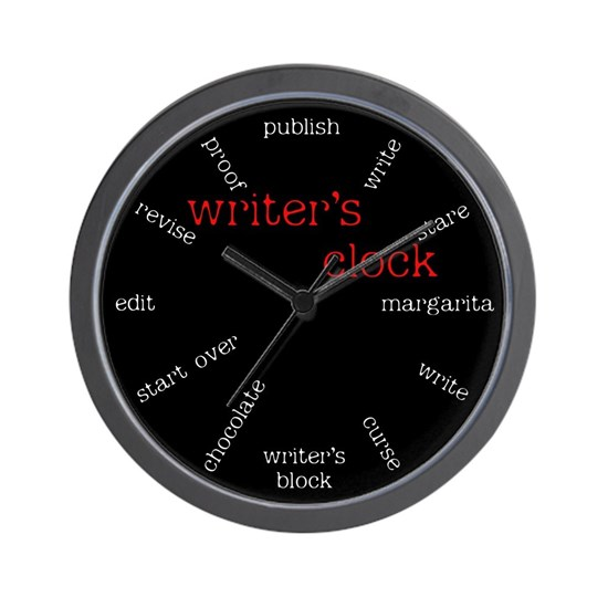 Writers Wall Clock