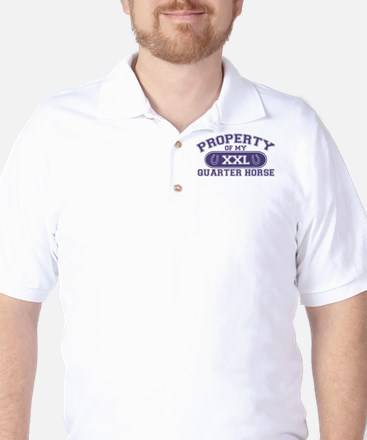 Quarter Horse PROPERTY Golf Shirt