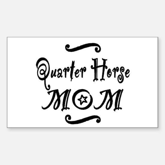 Quarter Horse MOM Sticker (Rectangle)