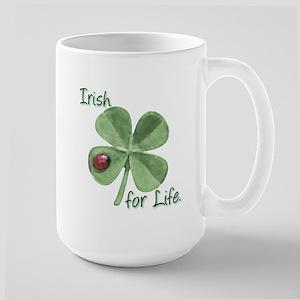 Irish for Life. Large Mug