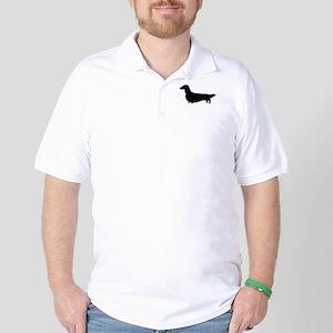 Long Haired Dachshund Golf Shirt