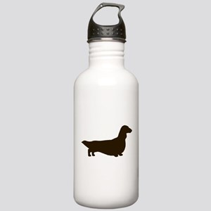 Long Haired Dachshund Stainless Water Bottle 1.0L