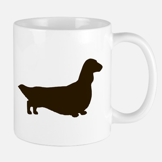 Long Haired Dachshund Mug