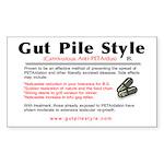 Anti Peta Pro Hunting Rectangle Sticker