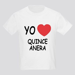 Yo amo quinceanera Kids Light T-Shirt