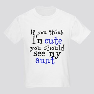 If You Think I'm Cute (Custom Kids Light T-Shirt