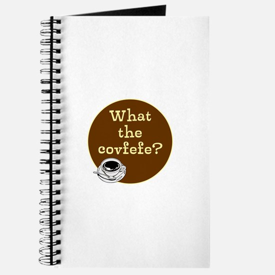 What the covfefe? Journal