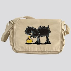 Affen n' Chick Messenger Bag
