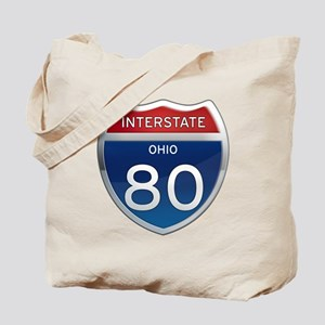Interstate 80 - Ohio Tote Bag