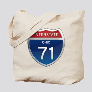 Interstate 71 - Ohio Tote Bag