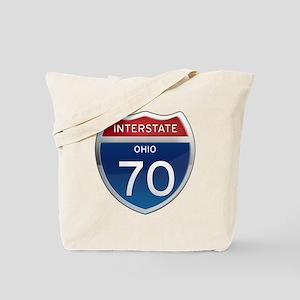 Interstate 70 - Ohio Tote Bag