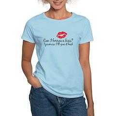 borrow a kiss Women's Light T-Shirt