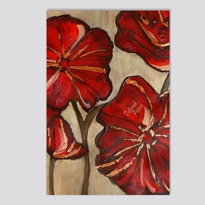 Red Poppy Art Postcards (Package of 8)