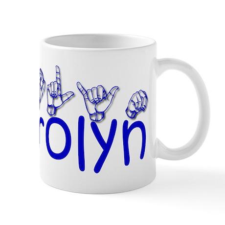 Carolyn-bl Mug