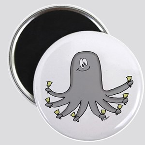 Octopus Handbells Magnet