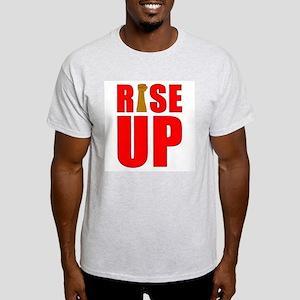 RiSE UP Ash Grey T-Shirt