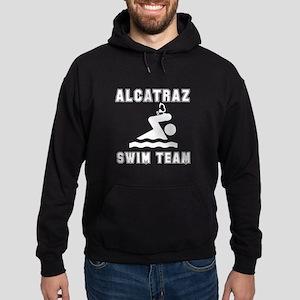 Alcatraz Swim Team Hoodie (dark)