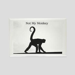 NotmyMonkey1 Magnets