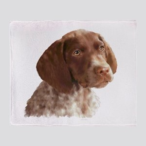 German Shorthair Puppy Throw Blanket