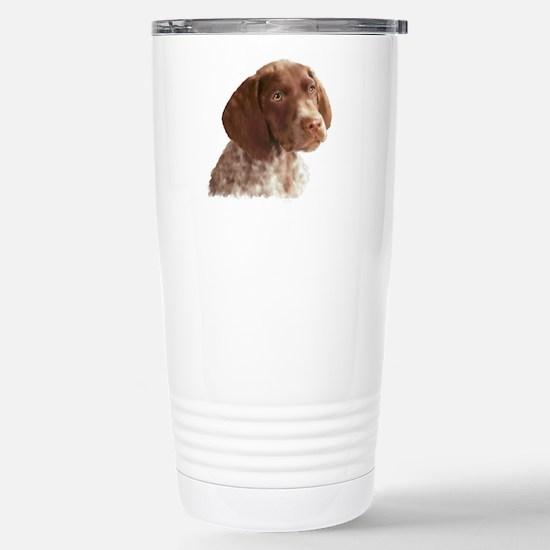 German Shorthair Puppy Stainless Steel Travel Mug